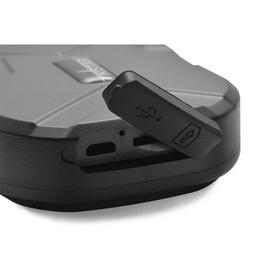 Įmontuotas mikrofonas leidžia jums kontroliuoti aplinką aplink seklį.