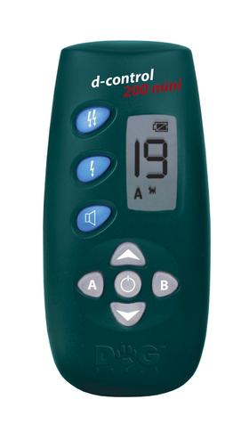 Электронный дрессировочный ошейник d-control 200 mini предназначен для собак малых пород